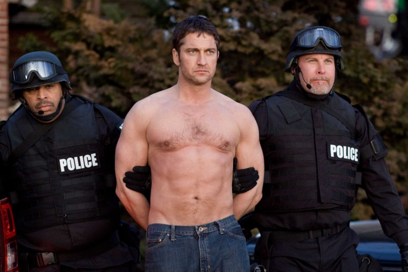 Gerard Butler in una scena di Law Abiding Citizen