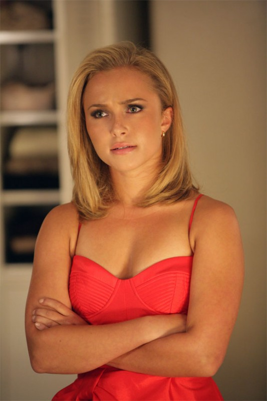 Hayden Panettiere in una scena di Hysterical Blindness dalla stagione 4 di Heroes