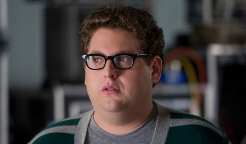 Jonah Hill è Leo nel film Funny People