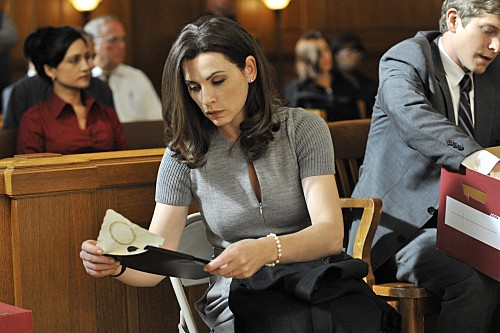 Julianna Margulies nell'episodio Fixed della serie The Good Wife