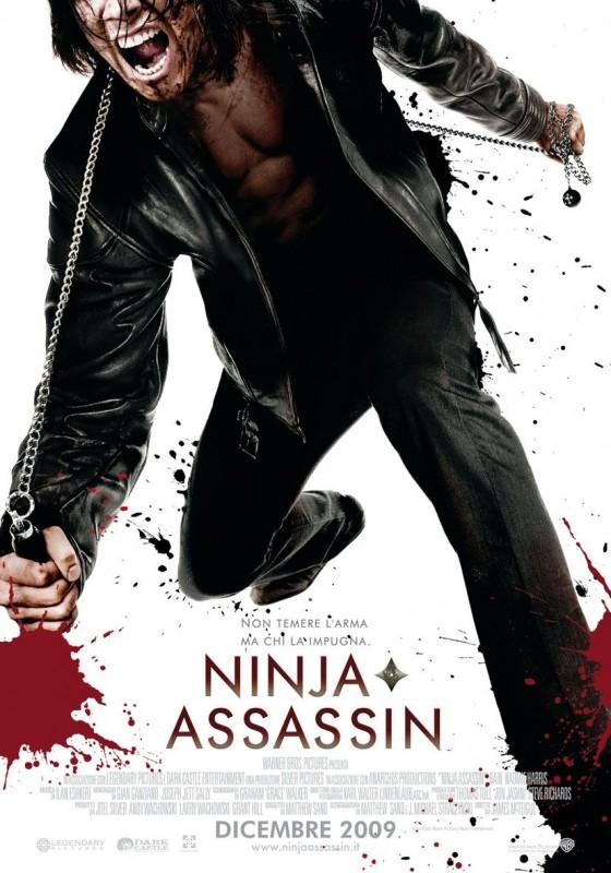 Locandina italiana del film Ninja Assassin
