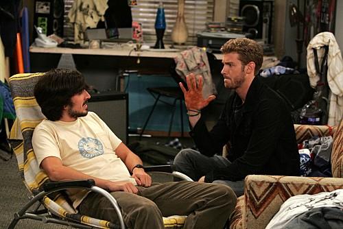 Nicholas Wright e Jon Foster nell'episodio One Night Stand di Accidentally on Purpose