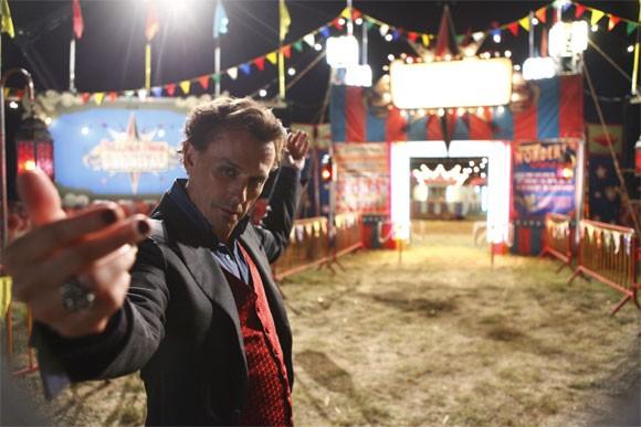 Robert Knepper in una scena da Hysterical Blindness della quarta stagione di Heroes