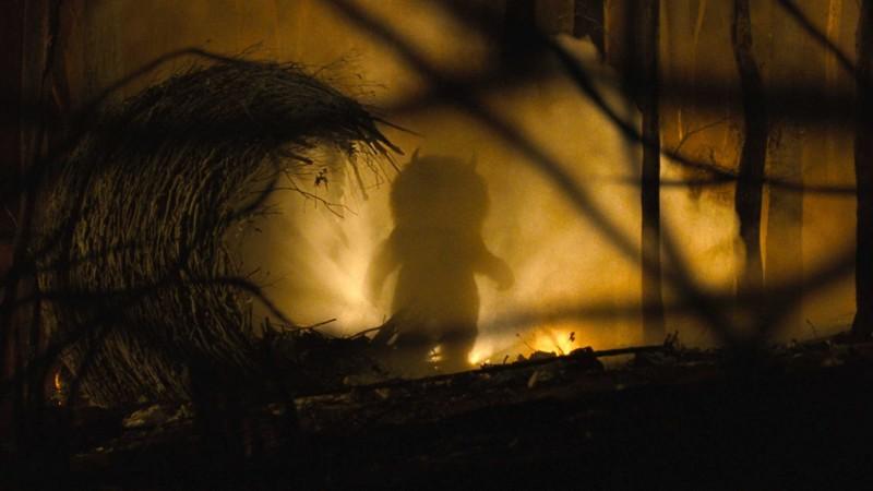 Un'immagine del film Nel paese delle creature selvagge di Spike Jonze