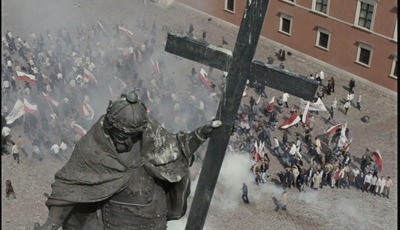 Un'immagine del film Popieluszko, di Rafal Wieczynski