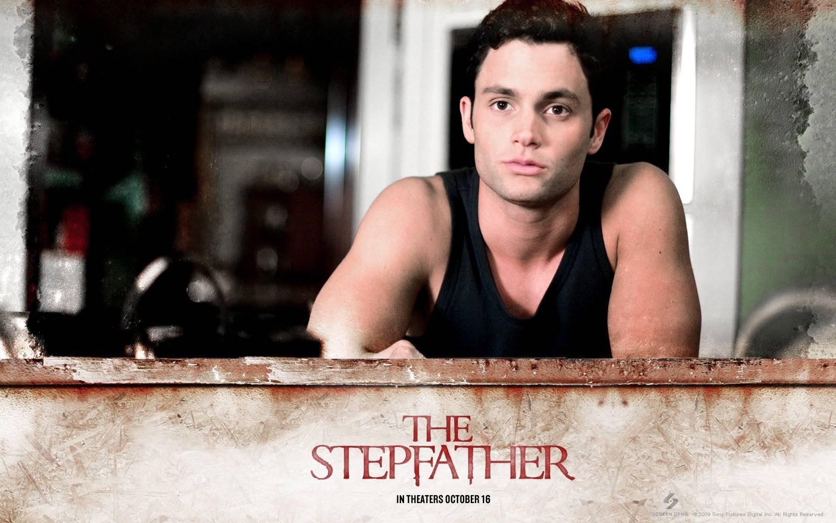 Un wallpaper del film The Stepfather con Penn Badgley