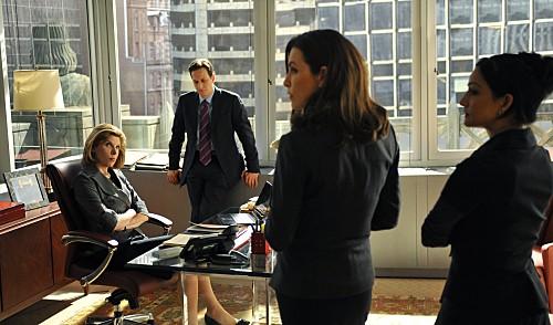 Una scena dell'episodio Fixed della serie The Good Wife