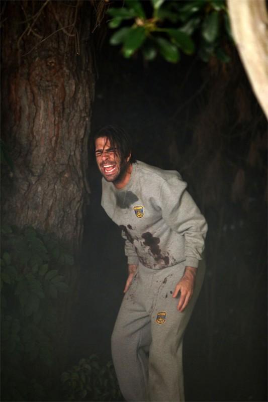 Zachary Quinto in una scena di Hysterical Blindness dalla quarta stagione di Heroes