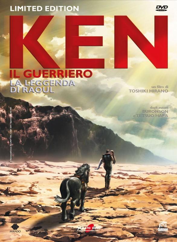 La copertina di Ken il guerriero - La leggenda di Raoul - Limited Edition (dvd)