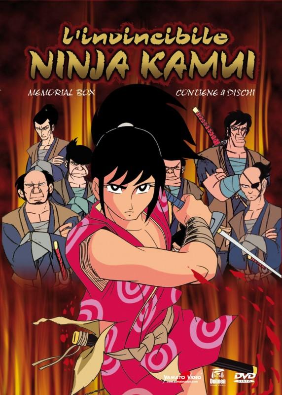 La copertina di Ninja Kamui - Box 1 (dvd)
