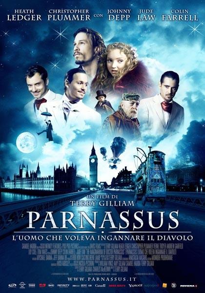 La locandina italiana di Parnassus - L'uomo che voleva ingannare il diavolo