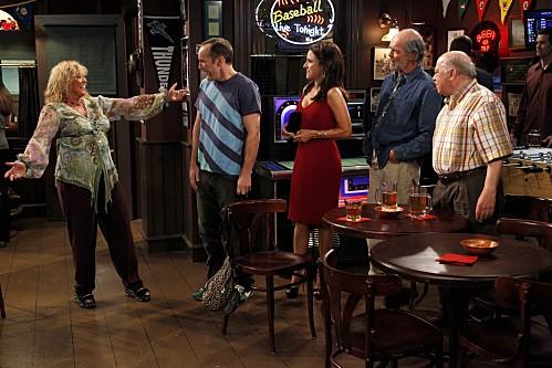 Una scena dell'episodio Burning Love de La complicata vita di Christine