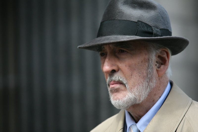 Christopher Lee in un'immagine del film Triage