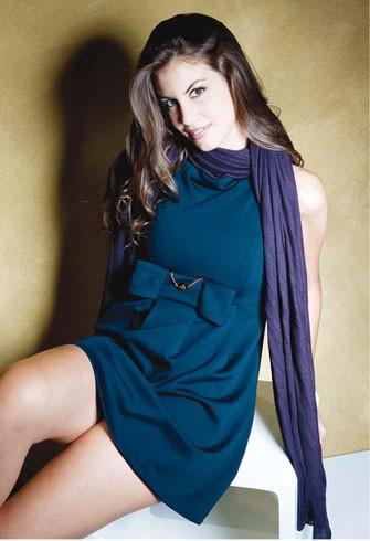 Francesca Fioretti in uno scatto fotografico di moda