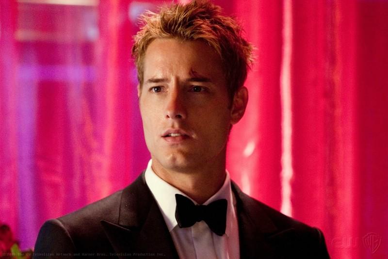 Justin Hartley (Oliver) nell'episodio Echo della stagione 9 della serie Smallville