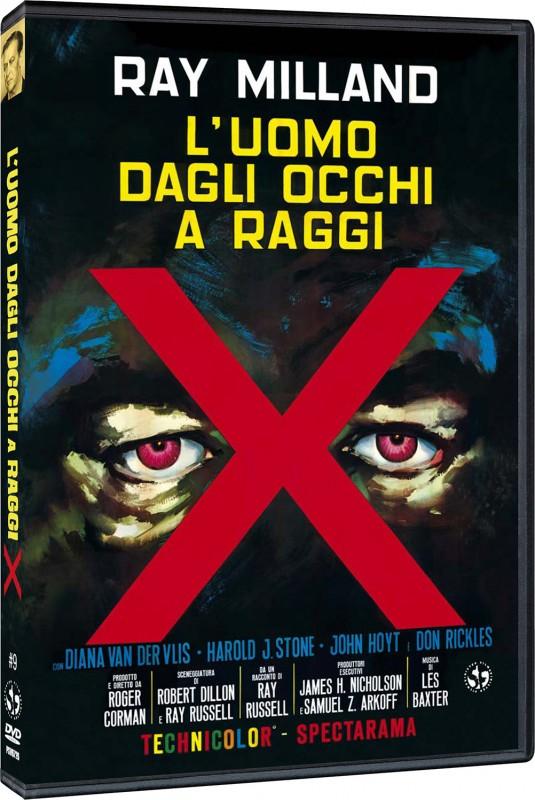 La copertina di L'uomo dagli occhi a raggi X (dvd)