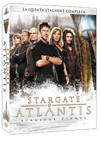 La copertina di Stargate: Atlantis - Stagione 5 (dvd)