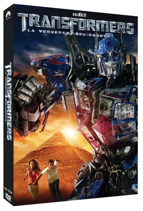 La copertina di Transformers - La vendetta del caduto (dvd)