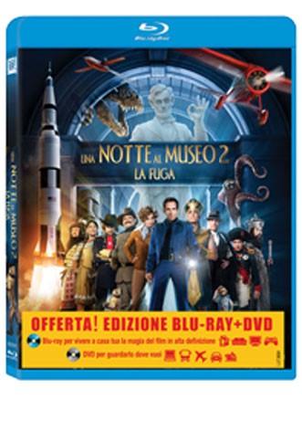 La copertina di Una notte al museo 2: la fuga (blu-ray)