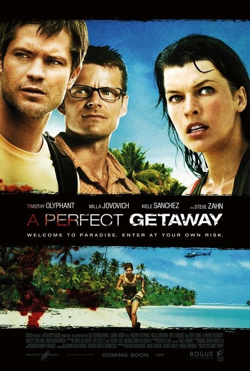 Poster internazionale per A Perfect Getaway