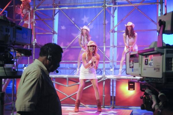 30 Rock: Jane Krakowski in una scena della premiere della stagione 4