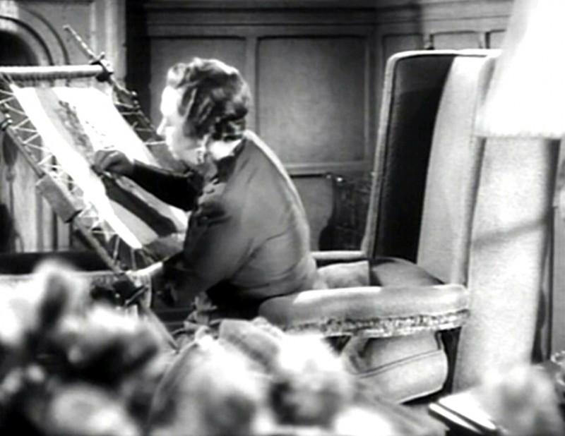 Auriol Lee in una scena del film Il sospetto ( 1941 )
