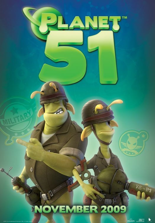 Character Poster (1) per Planet 51