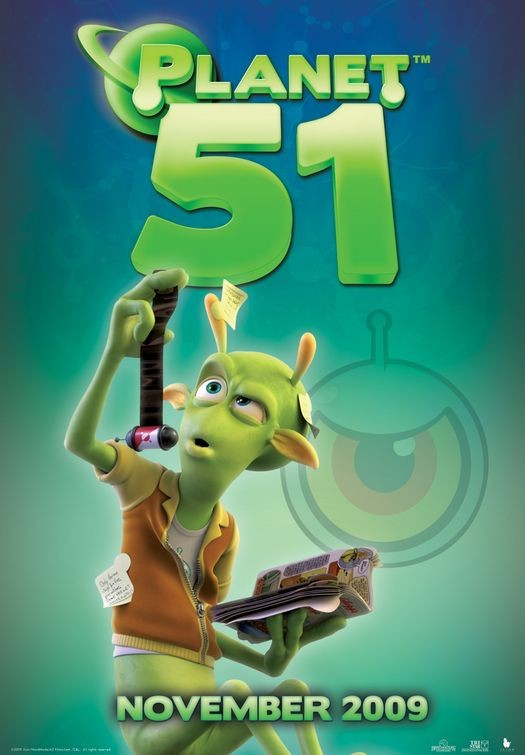 Character Poster (2) per Planet 51