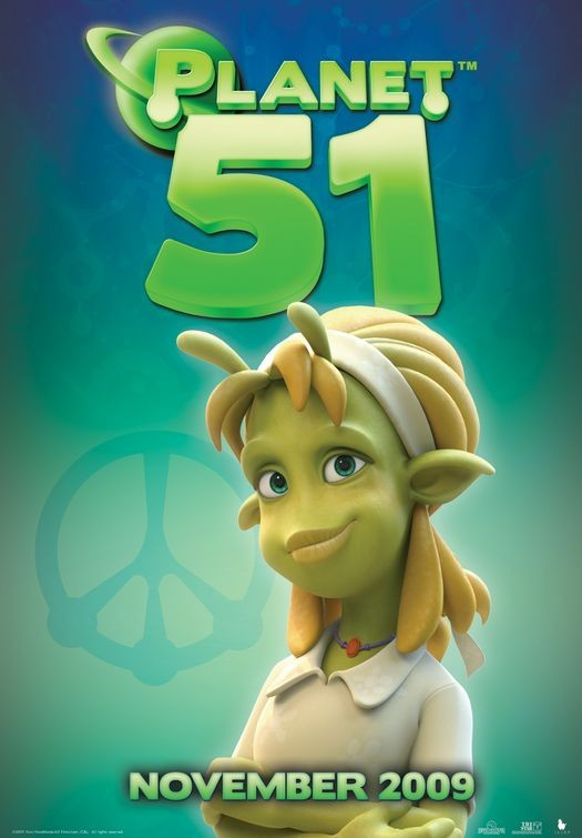 Character Poster (4) per Planet 51