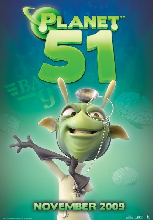 Character Poster (6) per Planet 51