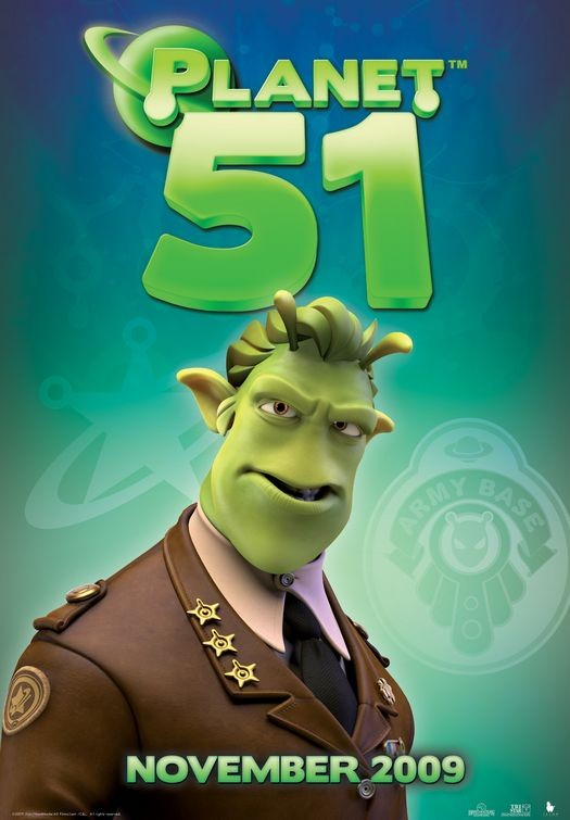 Character Poster (7) per Planet 51
