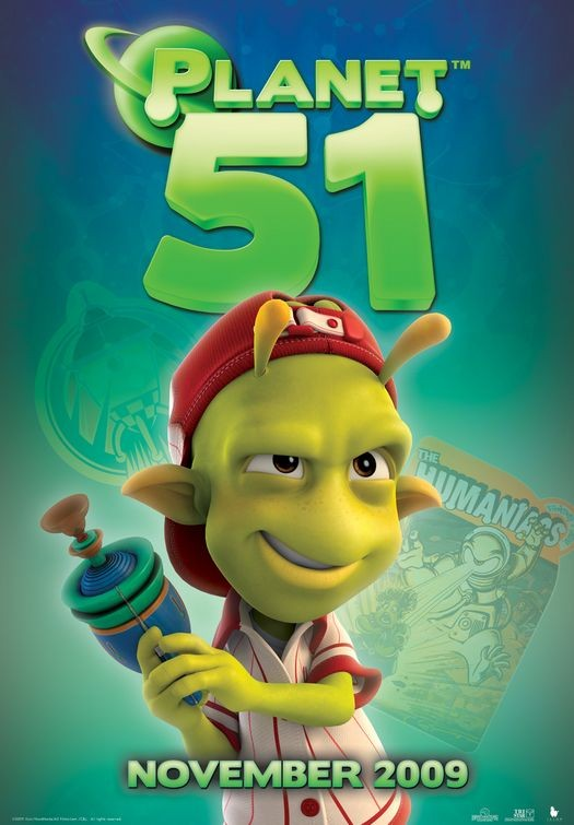 Character Poster (8) per Planet 51