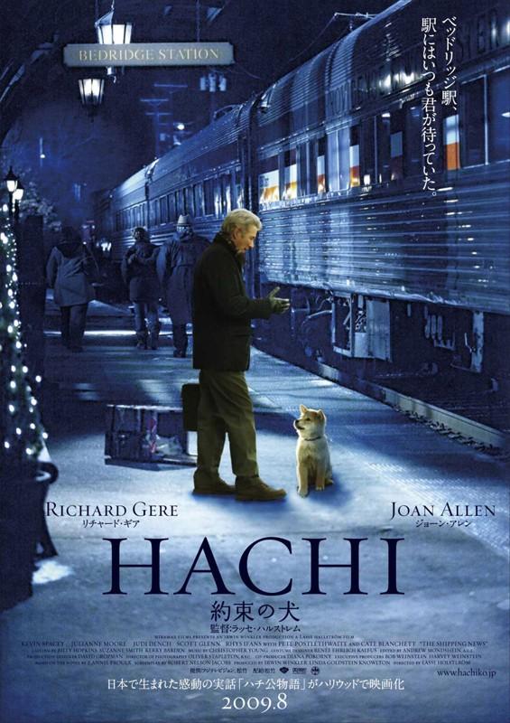 Il poster di Hachiko: A Dog's Story