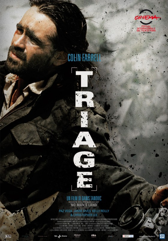 La locadina italiana del film Triage