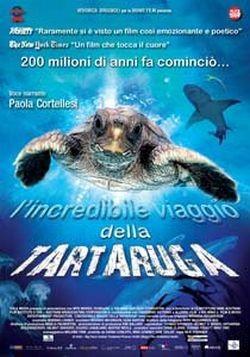 La locandina di L'incredibile viaggio della Tartaruga
