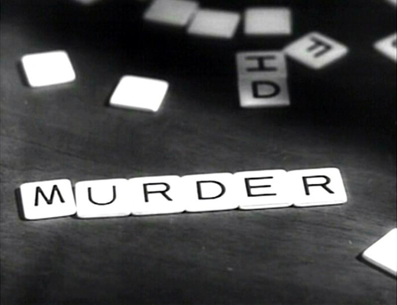 MURDER: una scena del film Il sospetto ( 1941 )