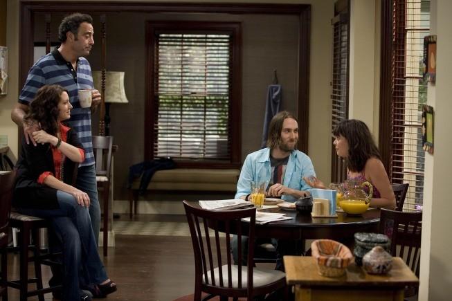 Til Death: Brad Garrett, Joely Fisher e Timm Sharp nell'episodio Doug and Ally Return