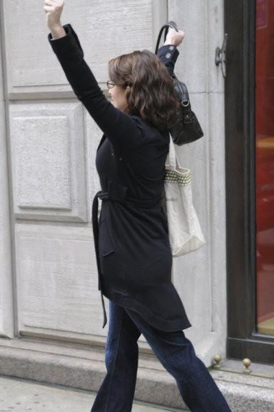 Tina Fey in una scena dell'episodio Into The Crevasse di 30 Rock