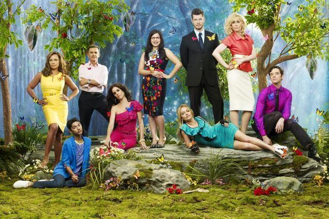 Ugly Betty: una foto promozionale del cast della stagione 4