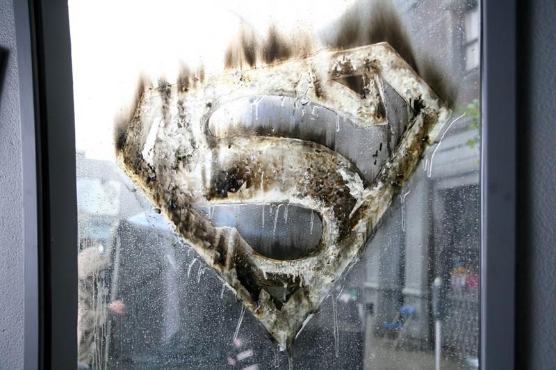 Un'immagine dall'episodio Savior di Smallville