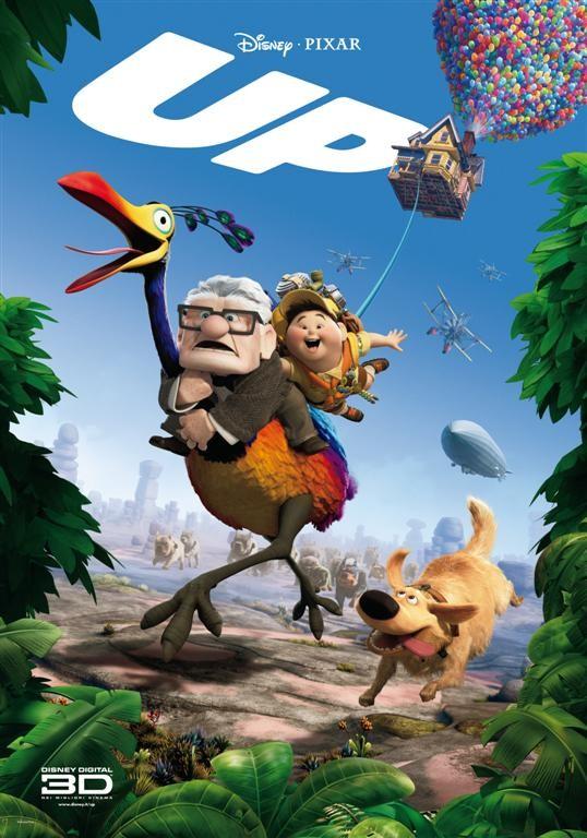 Una locandina italiana per Up della Pixar