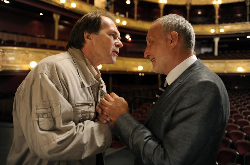 Una scena tratta dal film Il concerto