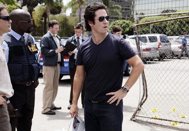 L'agente Don Eppes (Rob Morrow) in una scena dell'episodio Friendly Fire