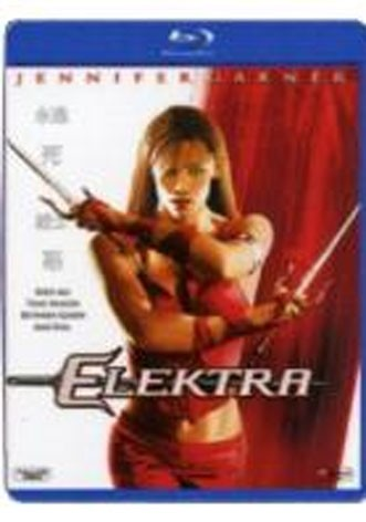 La copertina di Elektra (blu-ray)