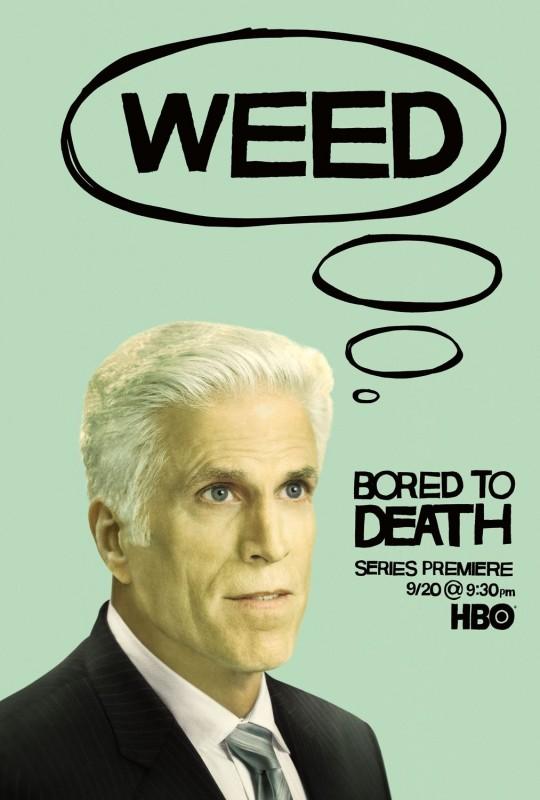 Bored to Death: Character Poster sul personaggio di Ted Danson
