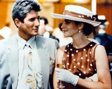 Richard Gere e Julia Roberts in una scena di Pretty Woman
