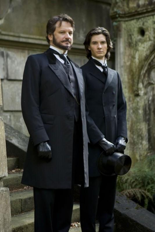 Colin Firth e Ben Barnes, rispettivamente nei ruoli di Lord Henry Wotton e Dorian Gray (2009)