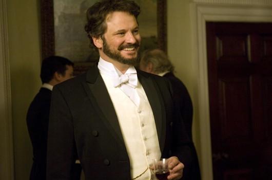 Colin Firth nel ruolo di Lord Henry Wotton in Dorian Gray