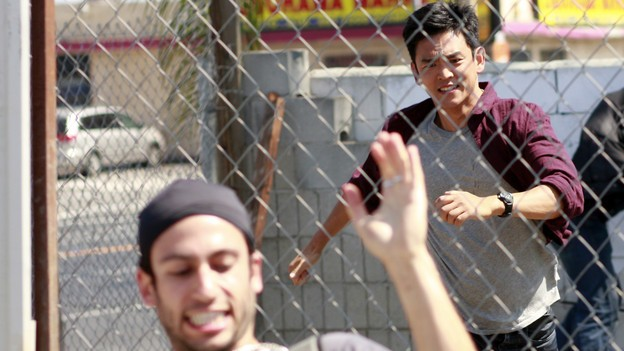 FlashForward: John Cho in una scena dell'episodio Black Swan