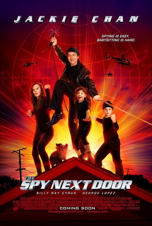 La locandina di The Spy Next Door